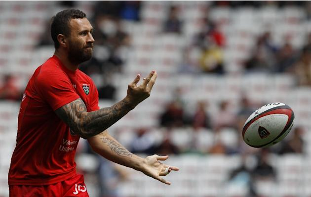 Australian fly-half Quade Cooper played 105 Super Rugby matches from 2007 before moving to Toulon in 2015