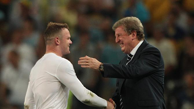 England manager Roy Hodgson is looking forward to working with Wayne Rooney again