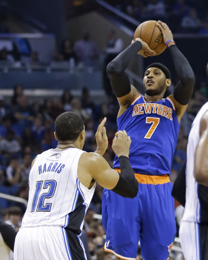 Carmelo game-time decision for Knicks vs Thunder