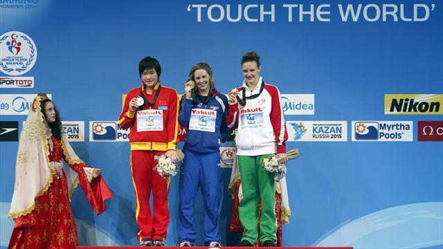 Swimming - Gold for Miley, bronze for Lowe at World Championships