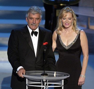 Dennis Farina and Jean Smart Emmy Awards - 9/22/2002
