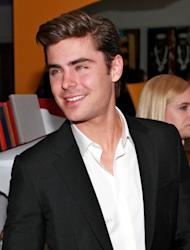 Zac Efron attends the Cinema Society & Men's Health host a screening of 'The Lucky One' at the Crosby Street Hotel in New York City on April 19, 2012 -- Getty Premium