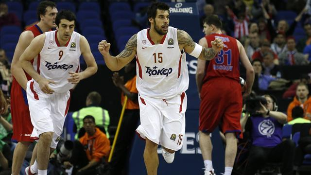 Basketball - Olympiacos to meet Real in Euroleague final