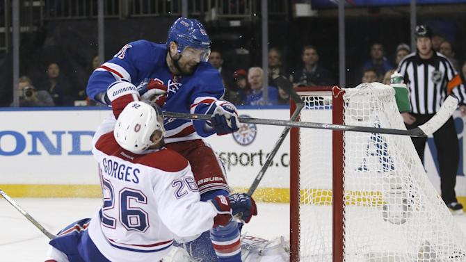 Rangers vs Canadiens turns nasty as Game 4 awaits