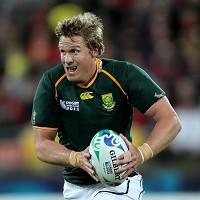 Jean de Villiers, pictured, is confident Johan Goosen can shine against New Zealand