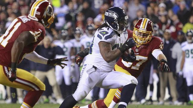 American Football - Seahawks' Lynch fined $50,000 by league