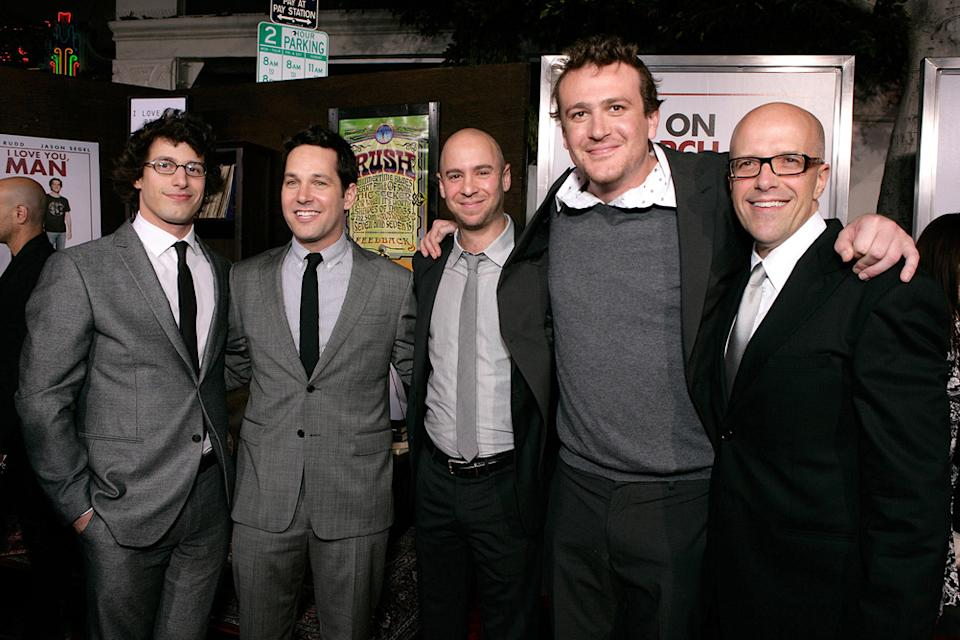 I Love You Man LA Premiere 2009 Andy Samberg Paul Rudd John Hamburg Jason Segel Donald DeLine