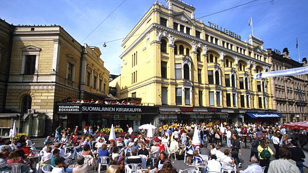 9. Finland Highest income tax rate: 49.2%  Average 2010 income: $49,000   Finland's current marginal rate of 49.2 percent comes into effect at $91,000. The country has been reducing its top marginal rate from 53.5 percent in 2004 to put more money into the pockets of households in order to fight the effects of inflation.   Municipal tax rates are also significant in Finland — varying between 16.25 percent and 21.5 percent. If an individual belongs to a Finnish church, then a church tax of 1 percent to 2 percent may also be due. Workers have to pay additional social security taxes like unemployment and pension insurance premiums. Other taxes include property tax, gift tax and tax on interest as well as a capital gains tax of 28 percent.   Finland's export-driven economy has been threatened by Europe's financial crisis. The country could fall into a recession this year after the GDP forecast for 2012 was slashed to 0.4 percent from 1.8 percent. The government announced plans in March to increase revenues by $1.98 billion via tax hikes by 2015. The measures include income tax hikes for high-earners with annual incomes or pensions of more than $132,000, as well as those with inheritances in excess of $1.3 million.   Pictured: Street in Helsinki. Photo: Aldo Acquadro | Getty Images