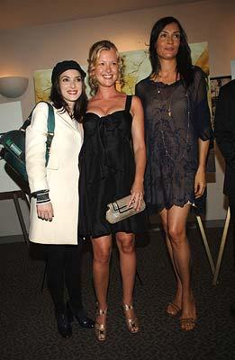 Winona Ryder , Gretchen Mol and Famke Janssen at the New York premiere of THINKFilm's The Ten