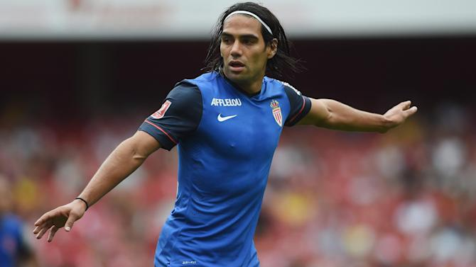 Liga - Pictured: Falcao's agent meets Real Madrid president