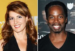 Nia Vardalos, Harold Perrineau Jr.  | Photo Credits: Jason Merritt/Getty Images, David Livingston/Getty Images