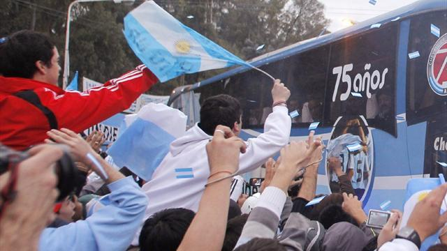 Argentina team bus 'pelted with stones' in Peru