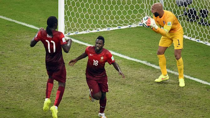 World Cup - Late Varela strike rescues Portugal