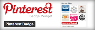 4 WordPress Plugins To Optimize Your Blog For Pinterest image Pinterest Badge Can Help You Get More Followers