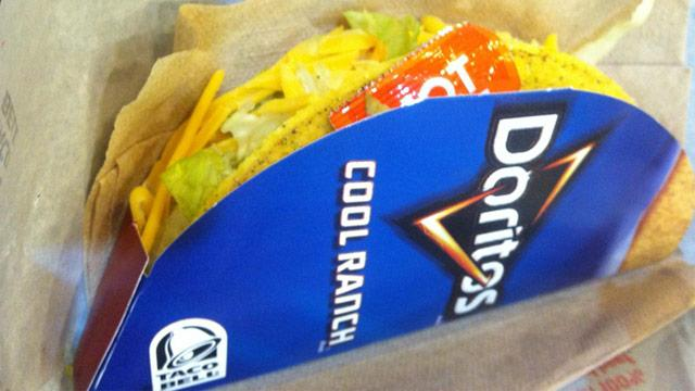 Taste Test: Taco Bell Cool Ranch Doritos Locos Tacos