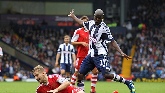 Soccer - Barclays Premier League - West Bromwich Albion v Southampton - The Hawthorns