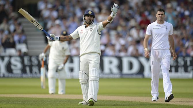 Cricket - England, India finely poised after Ballance ton