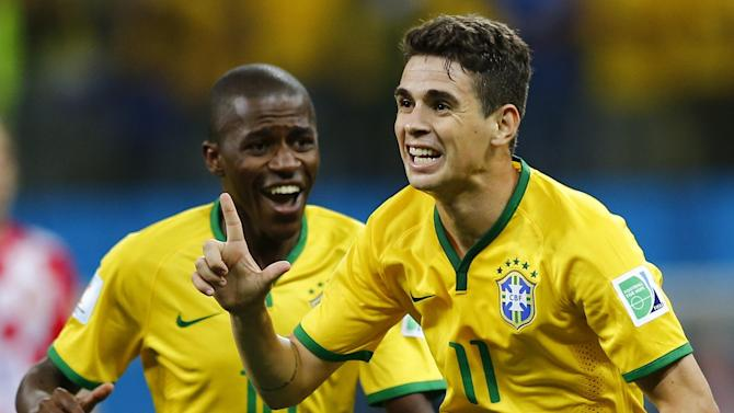 World Cup - Brazil hope for perfect record against Africans to continue