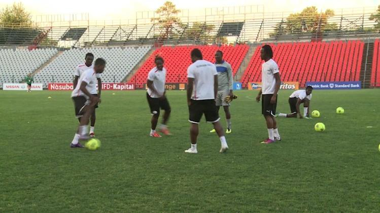 Burkina Faso prepare for Sunday's AFCON final