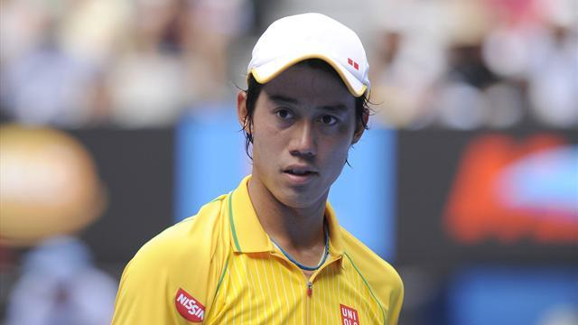 Tennis - Nishikori overcomes Karlovic to defend Memphis title