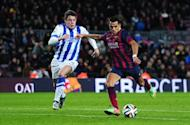 Barcelona 2-0 Real Sociedad: Elustondo howler hands hosts upper hand