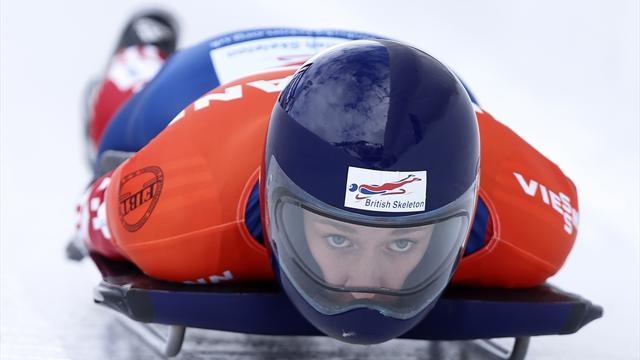 Skeleton - Yarnold racks up third straight podium finish in Lake Placid