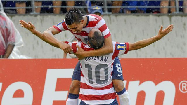 Concacaf Football - US hammer El Salvador to reach Gold Cup semis