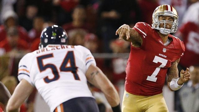 NFL  - Kaepernick wins battle of back-ups for 49ers