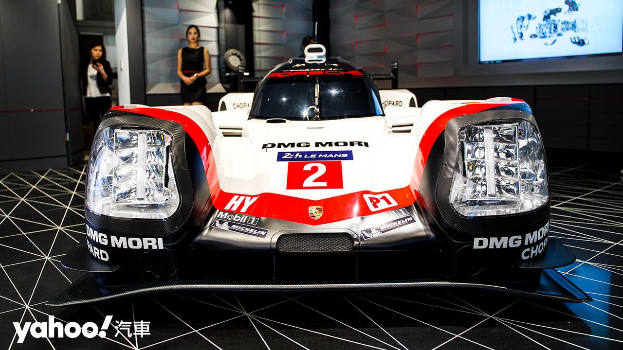 【新車圖輯】Porsche Studio概念店盛大開幕!復刻經典賽車935與利曼戰駒919 Hybrid帥氣抵台!