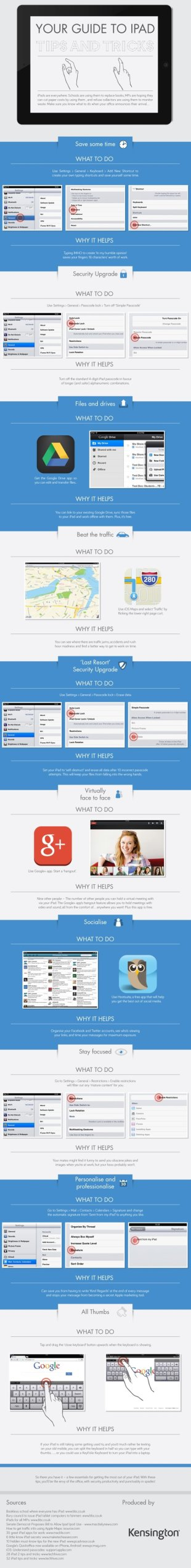 Your Guide to iPad Tips and Tricks Infographic image 80937315a27c b461 4509 9682 ba03bcdb4952