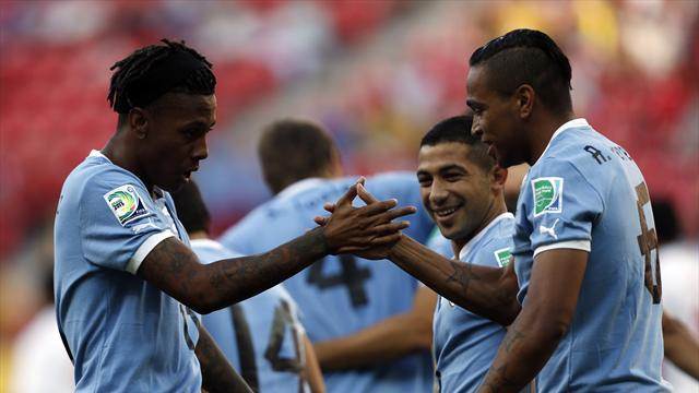 International friendlies - Lacklustre Uruguay get scrappy draw with Austria