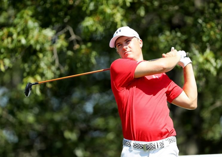 Jordan Spieth is looking to pick up a third win this season at The Barclays. (Getty Images)