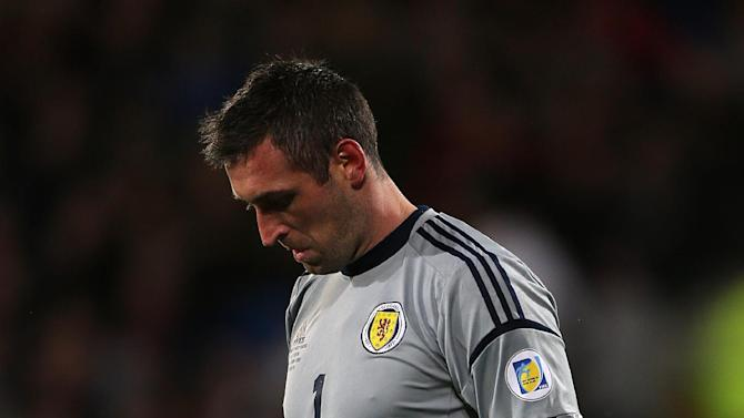 Allan McGregor says Scotland's players need to block out the negatives after the defeat to Wales