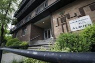 The Montreal apartment building where Luka Rocco Magnotta reportedly lived, pictured May 31. Montreal police said Friday the victim of a Canadian porn star suspected of filming the dismemberment of his boyfriend and mailing his body parts was a Chinese student