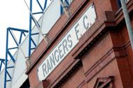Glasgow Rangers football club is pictured in Glasgow, Scotland in February 2012. Rangers needed a last-minute equaliser to spare their blushes as the Glasgow giants started life in the Third Division with a 2-2 draw against part-timers Peterhead