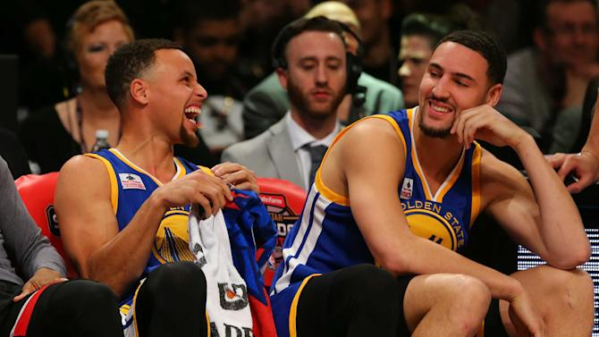 Klay Thompson beats Stephen Curry in 3-point contest