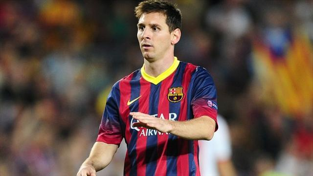 Liga - Messi included in Barca squad for Copa del Rey