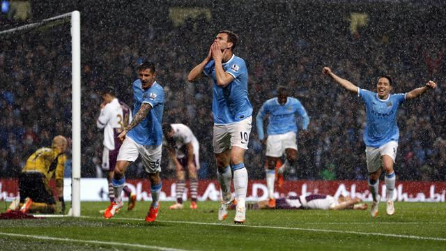 Premier League - Man City 'can almost touch title' after Villa rout
