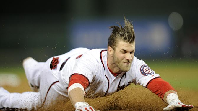 Report: Nats' Harper out until July with bad thumb