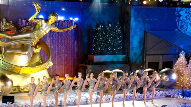 Radio City Rockettes Rockefeller Tree Lighting