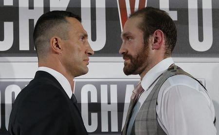 Wladimir Klitschko & Tyson Fury Head-to-Head Press Conference