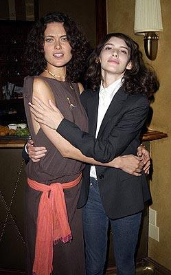 Shalom Harlow and Liane Balaban Happy Here and Now Toronto Film Festival - 9/10/2002