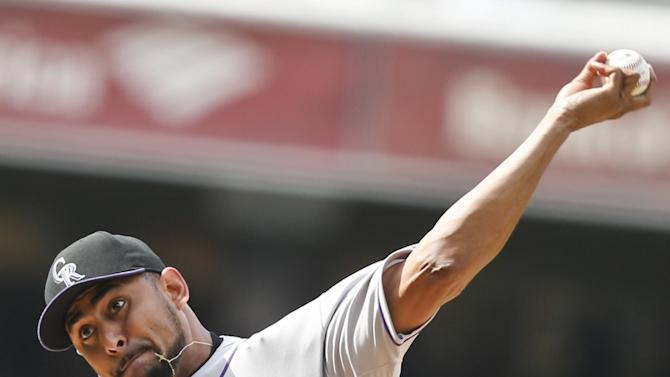 Franklin Morales helps Rockies beat Padres 3-1