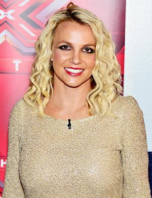 Britney Spears Freaks Out Over Lightning on X Factor