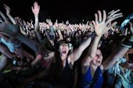 Fans cheer during the EXIT festival in Novi Sad in 2011. Your mother was right: Pop music has become louder and less original over the years