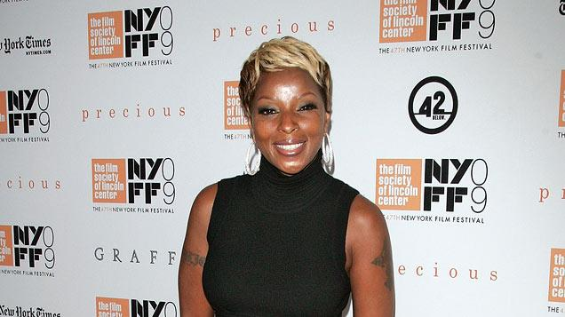Precious NY Screening 2009 Mary J. Blige