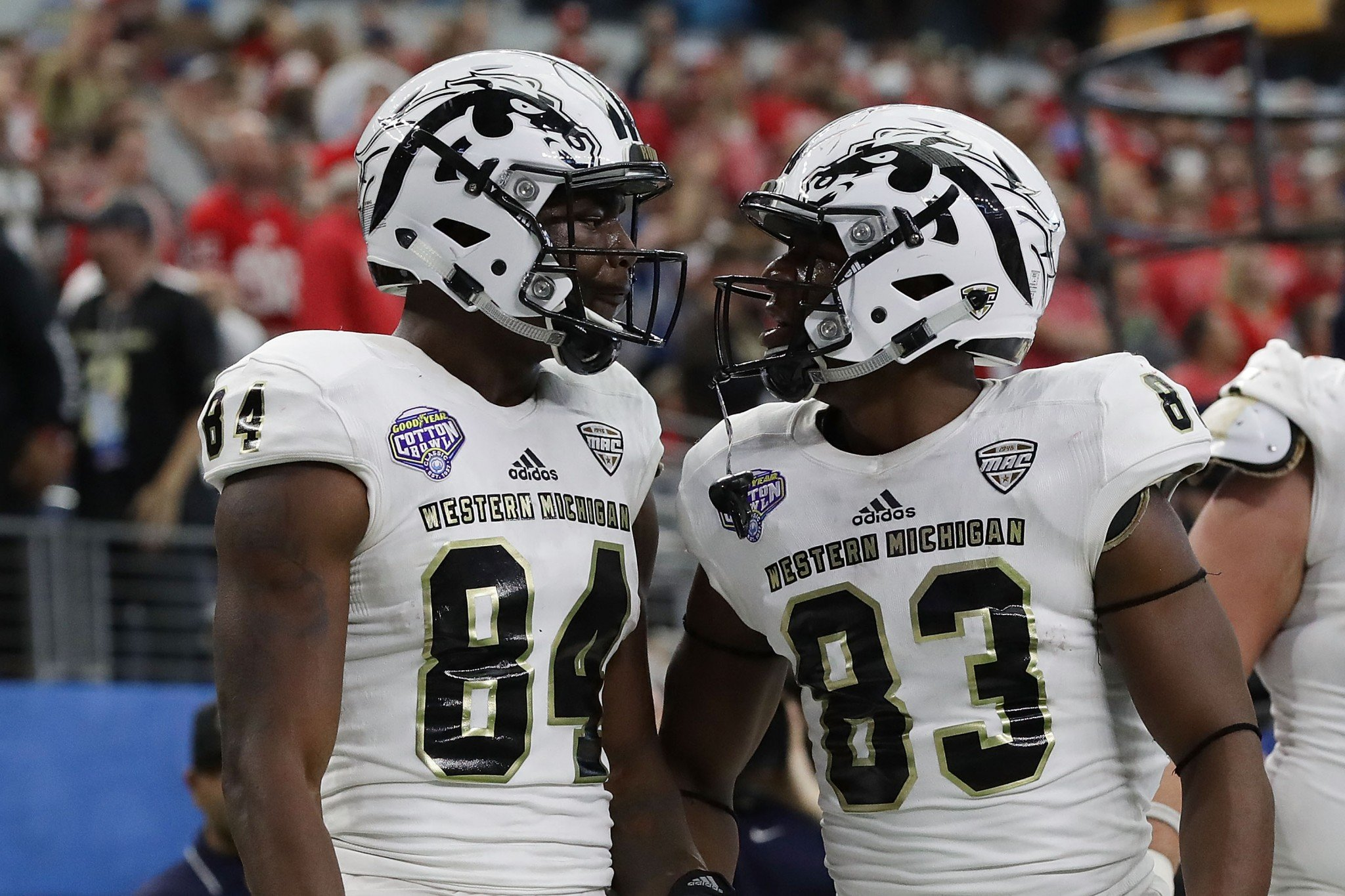 Western Michigan was the non-Power Five representative in the New Year's Six bowls. (Getty)