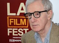 Director and producer Woody Allen attends the 2012 Los Angeles Film Festival premiere of 'To Rome With Love' at Regal Cinemas L.A. LIVE Stadium 14 in California on June 14. Approaching 80 with a handful of Oscars under his belt, American film veteran Allen says what drives him still is the desire to make a great movie