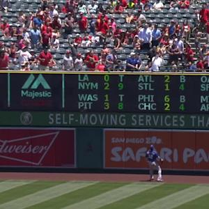 Trout's 30th homer