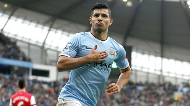 Champions League - Aguero sends warning to Barca